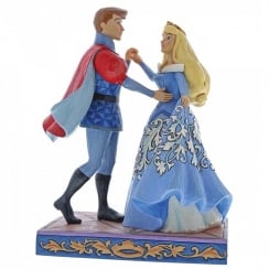 Swept Up in the Moment Aurora & Prince Figurine