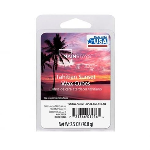 Mainstays Tahitian Sunset Scented Wax Cube Melts