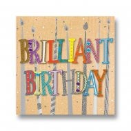 Talking Pictures More Than Words Brilliant Birthday Card MWER0121