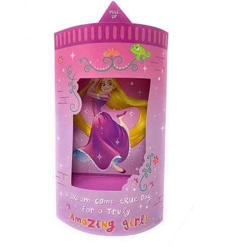 Hallmark Tangled Rapunzel Light Up 3D Birthday Card 25505453
