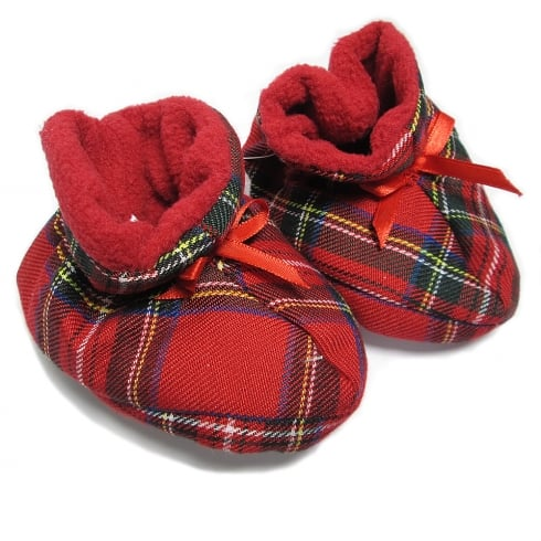 Thistle Products Ltd Tartan Bootees 0-6 months