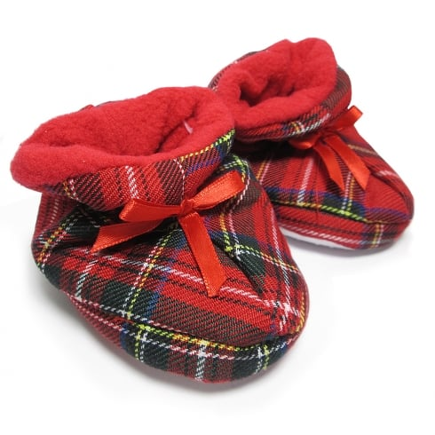 Thistle Products Ltd Tartan Bootees 6-12 months