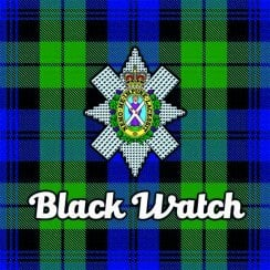 Tartan Clan Coaster - Black Watch