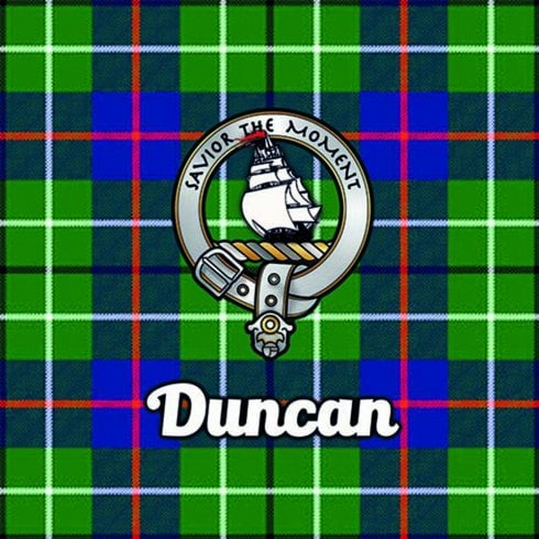 Art2Glass Tartan Clan Coaster - Duncan