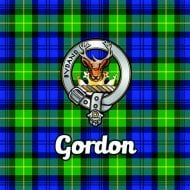 Tartan Clan Coaster - Gordon