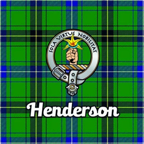Art2Glass Tartan Clan Coaster - Henderson