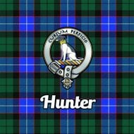 Tartan Clan Coaster - Hunter