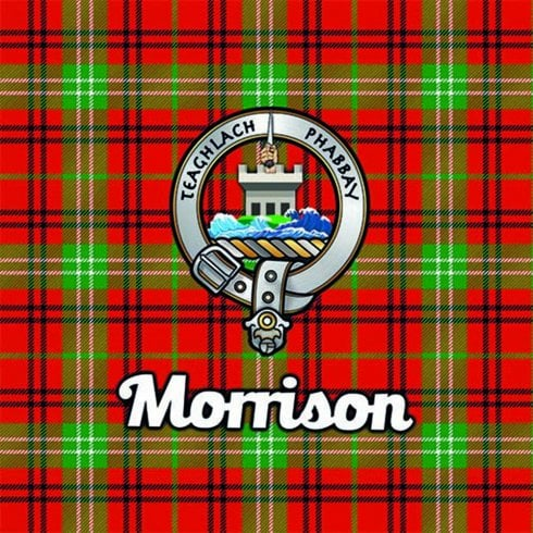 Art2Glass Tartan Clan Coaster - Morrison