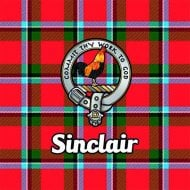 Tartan Clan Coaster - Sinclair