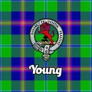 Tartan Clan Coaster - Young
