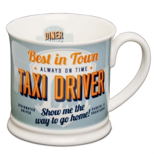 Diner Style Mugs Taxi Driver