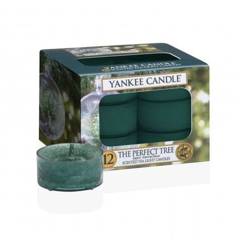 Yankee Candle Tea Light Candles The Perfect Tree