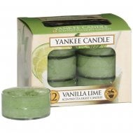 Tea Light Candles Vanilla Lime