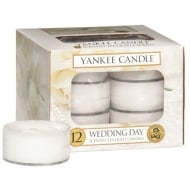 Tea Light Scented Candles Wedding Day