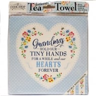 Tea Towel Grandmas Hold Our Tiny Hands