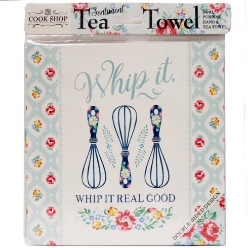 History & Heraldry Tea Towel Whip It