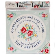 Tea Towels Good Friends Are Like Stars