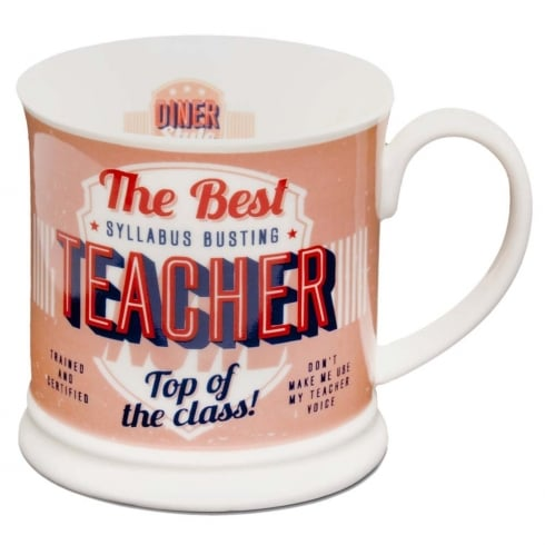 Diner Style Mugs Teacher