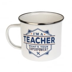 Teacher Tin Mug 15
