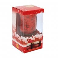 Tealight Winter Gift Set With Holder