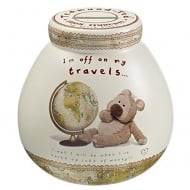 Ted Travels - Travel Fund Ceramic Money Pot
