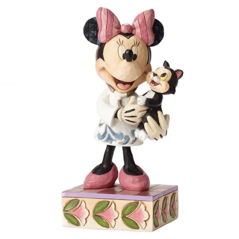Disney Traditions Tender Love And Care Vetinarian Minnie Mouse Figurine