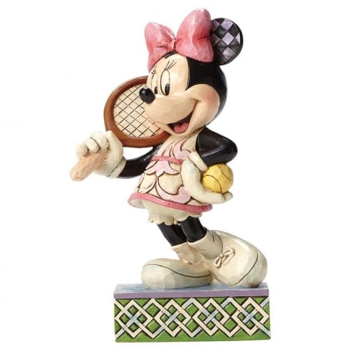Tennis Anyone? Minnie Mouse Figurine