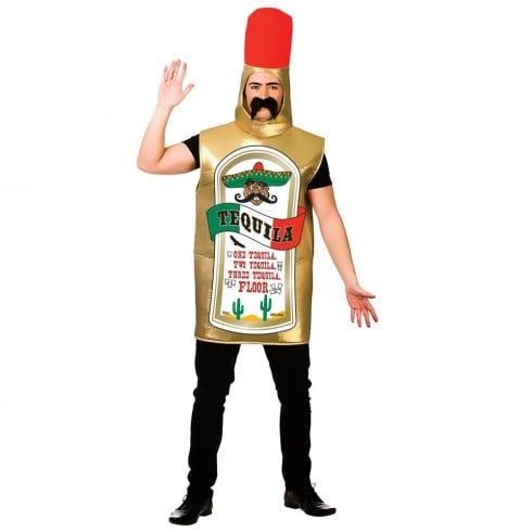 Wicked Costumes Tequila Bottle Adult Costume