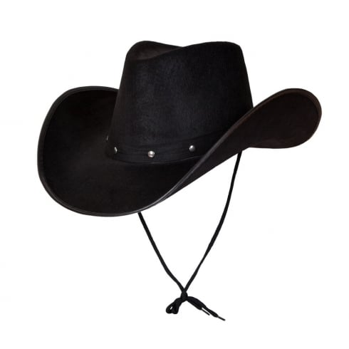 Wicked Costumes Texan Cowboy Hat - Black