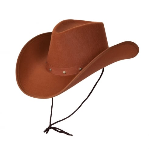 Wicked Costumes Texan Cowboy Hat - Brown
