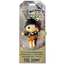 The Army Voodoo Keyring