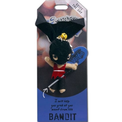 Watchover Voodoo Dolls The Bandit Voodoo Keyring