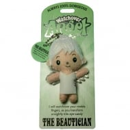 The Beautician Angel Keyring