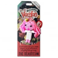 The Beautician Voodoo Keyring