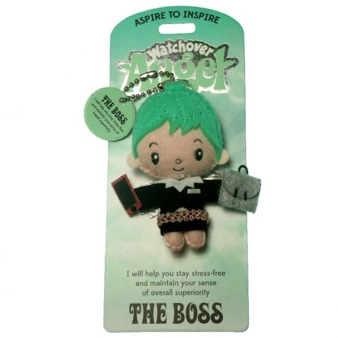 Watchover Angels The Boss Angel Keyring