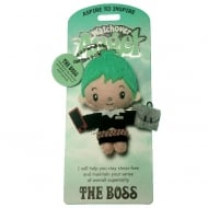 The Boss Angel Keyring