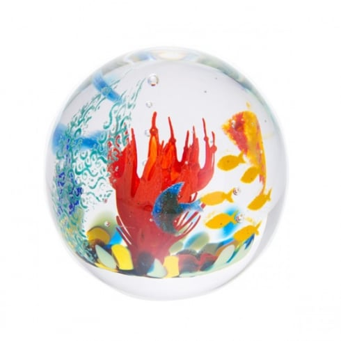 Caithness Glass The Coral Sea Paperweight Limited Edition