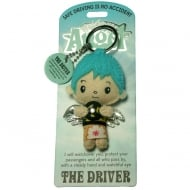 The Driver Angel Keyring