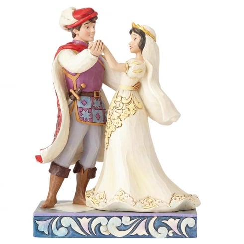 Disney Traditions The First Dance Snow White & Prince Figurine