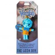 The Geek Boy Voodoo Keyring