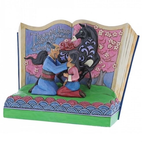 Disney Traditions The Greatest Honor is You as a Daughter Mulan Storybook