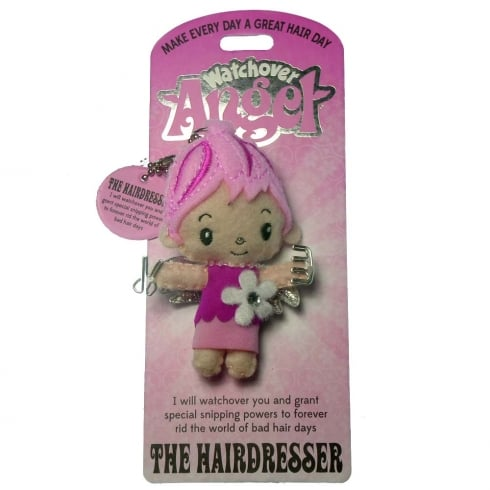 Watchover Angels The Hairdresser Angel Keyring