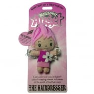 The Hairdresser Angel Keyring