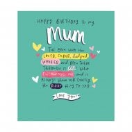 The Happy News Mum The One Who Has Loved Birthday Card