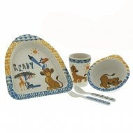 The Lion King Simba Organic Dinner Set