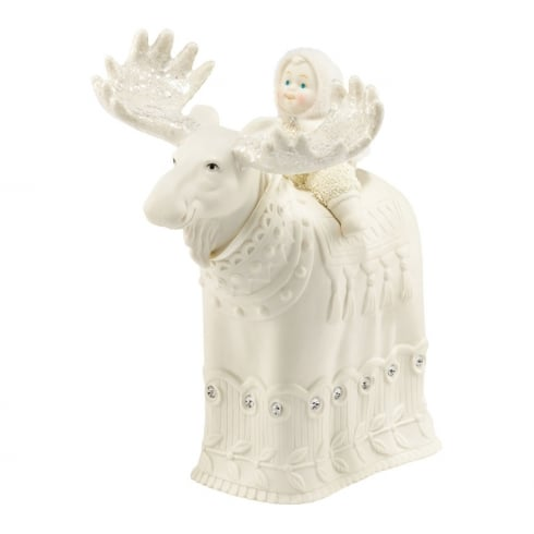 Snowbabies The Majestic Moose Figurine
