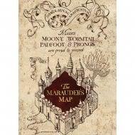 The Marauders Map Card