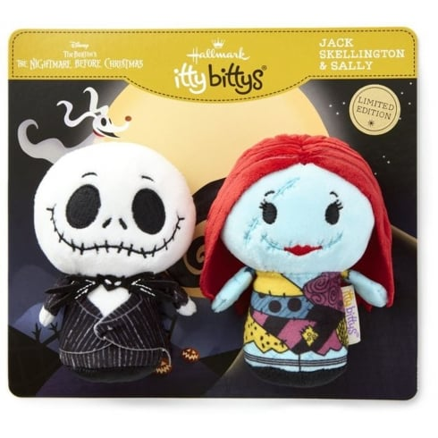 Hallmark Itty Bittys The Nightmare Before Christmas - Jack Skellington & Sally US Edition