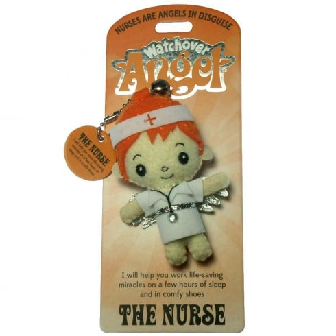 Watchover Angels The Nurse Angel Keyring