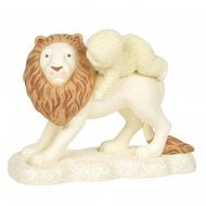 The Peaceful King Snowbaby & Lion Figurine
